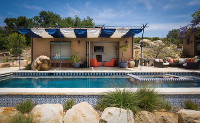 Photo for Architectural, Private Cabana With Pool And Spa.