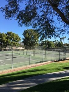 Photo for 2 Bedroom condo with private tennis court and Pool.
