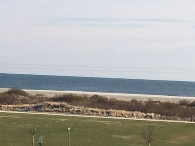Unobstructed Beach View from Large Balcony
