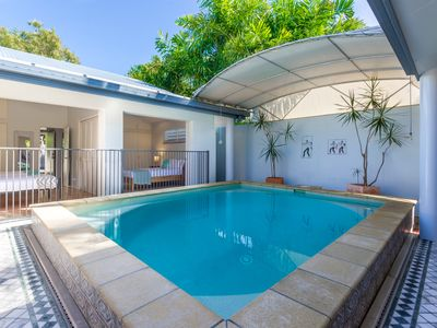 Photo for Port Douglas holiday home at the beach featuring a private indoor pool