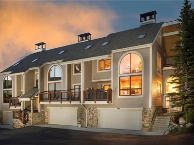 Photo for Spectacular Townhome with Private Hot Tub and Stunning Summertime Mountain Views!