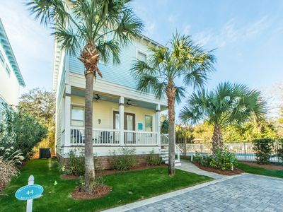 Photo for 30A Gulf Place-Walk 2 Bch & Shops☀️Inspected & Disinfected☀️3BR Whispering Palms