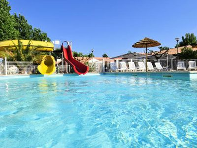 Photo for Camping Les Cigales *** - Mobile home 1 bedroom 2 people (between 0 and 5 years)