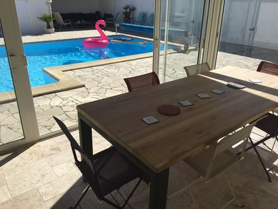 Photo for VILLA with Swimming pool heated in season - Ideally located on the Island