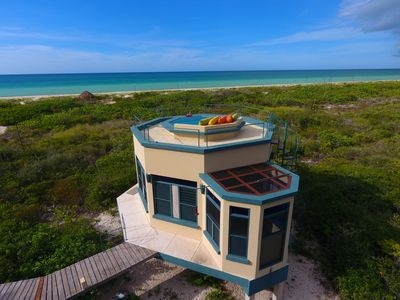 Photo for East bungalow with optional private chef at a secluded beach