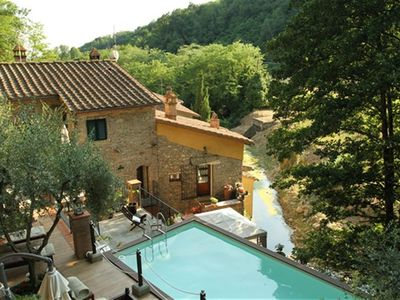 "Photo for Borgo Buggiano: Apartment inserted in a ""Mill of the seventeenth century"" rustic in the countryside."