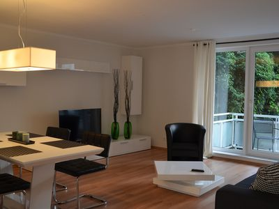 Photo for 86 sqm living comfort for up to 3 holiday guests, centrally located in the south of Cologne