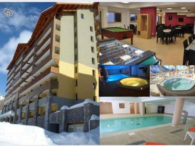 Photo for ISOLA 2000 BEAUTIFUL 3 ROOMS IN DUPLEX of 80 m² for 8 people with SWIMMING POOL, JACUZZI ..
