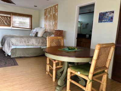Photo for Discount for April Dates! Large 580 sq ft Studio, A/C, Pool, near #1 Beaches!