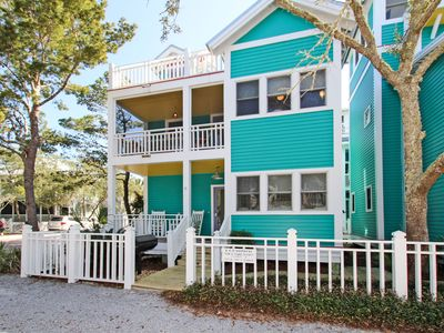Photo for Recently Updated, Many Porches, Tower, and Pet Friendly in Seaside
