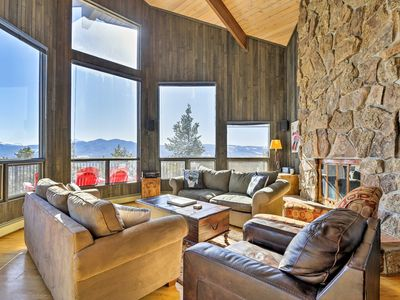 Photo for NEW! Panoramic Mountain-View Home w/ Hot Tub+Deck!