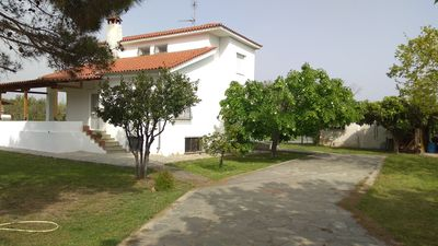 Photo for Villa with big garden and BBQ amenities