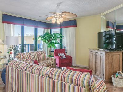 Photo for HAVE A BALL with Kaiser in Four Seasons Of Romar #704 West: 2 BR/2 BA Condo in Orange Beach Sleeps 8