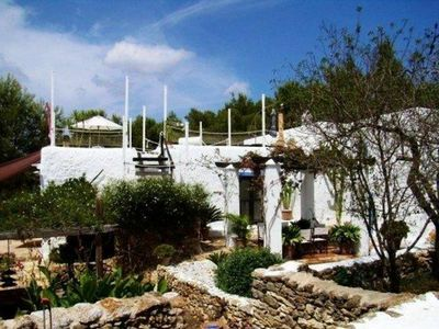 Photo for Typical Ibiza House.  XVIII century. Comfortable and classy.