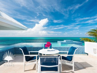 Photo for Vacation in a turquoise paradise at Plum Wild  2BR villa on Grace Bay Beach