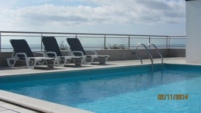 Photo for 426730 - 2 bedroom apartment - Sun terrace and pool, with great sea views - Sleeps 4 - Nazare