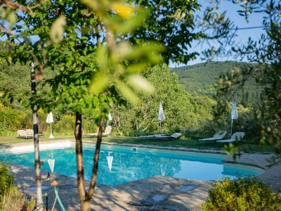 Photo for Country Holiday Apartment in Villa, Swimming Pool, WiFi  (Giotto)