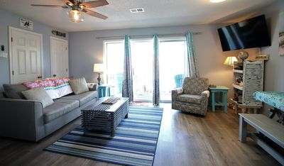 Photo for The Salty Dawg Condo!  2BR/2BA just a short stroll to the beach!!!