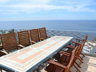 Photo for Situated in one of the most scenic areas of Positano  center, walking area