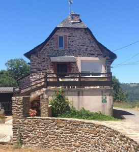 Photo for Cottage located in the heart of a small hamlet, near Conques ...