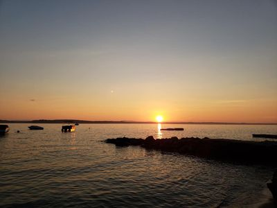Photo for WOW- 2 Weeks In July  Available. Sebago Waterfront:Sunsets,beach,dock,mooring