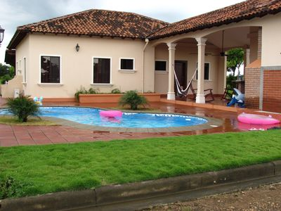Photo for Nicaragua 3 bedroom beach house with private pool