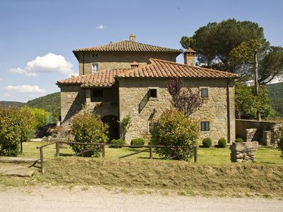 Photo for Wonderful villa surrounded by mountains, oaks and chestnut trees