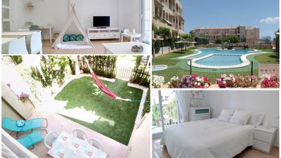 Photo for ★ SECOND LINE! ★ 2 BIG TERRACES ★ KIDS FRIENDLY ★ Pool, Wifi, Toys, garage