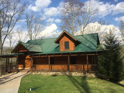 Photo for Comfort, Convenience and Privacy - The Ultimate Log Cabin Experience