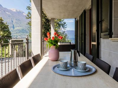 Photo for Quiet & Peace apartment in Riva with WiFi, air conditioning, private parking, private terrace & bal…