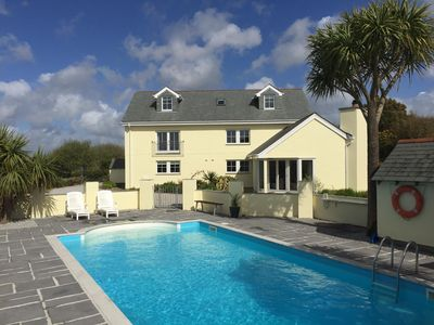 Photo for Rainbows End House in a peaceful AONB with outdoor heated Swimming pool