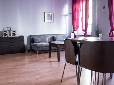 Photo for M15 apartment in Stare Miasto with WiFi & air conditioning.
