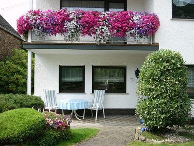 Photo for Barrier-free apartment **** Moselle near, outdoor seating & free Wi-Fi