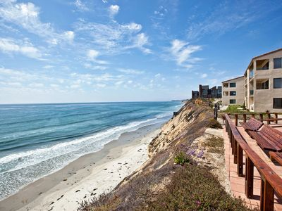 Photo for Ocean Front Condo In Beautiful Solana Beach - Sleeps 4