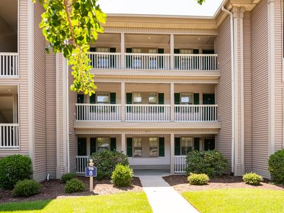 Photo for TB 8F  Second floor Condo True Blue Golf/Tennis/Pool Accessible