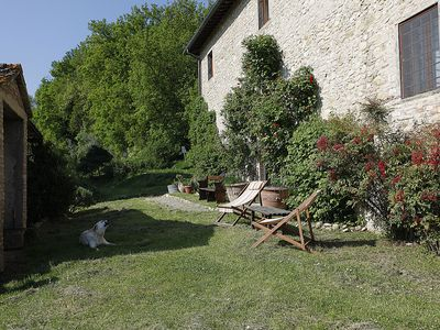 Photo for Farmhouse on an organic farm in Chianti, with pool - ERTA