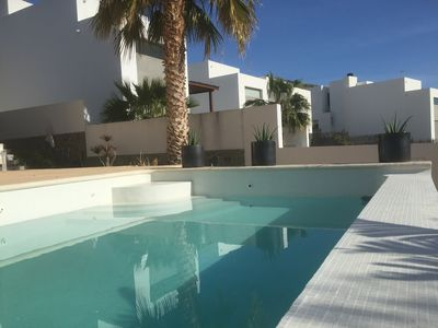 Photo for luxury villa with private pool. Las Negras.