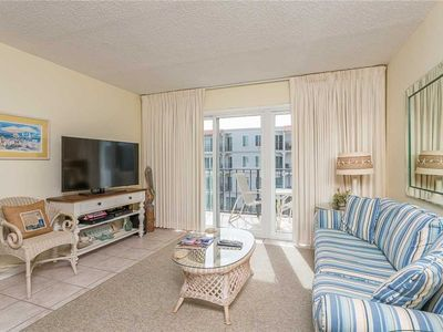 Photo for Great for Small Families! Oceanfront Condominium with Pool, Beach Access, Fitness Center