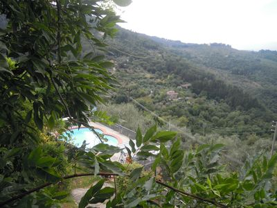Photo for Quiet and comfortable two-room apartment with a wonderful panorama. In the green and near Florence