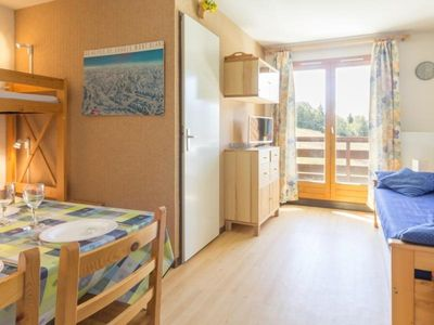 Photo for 1BR Apartment Vacation Rental in Plagne Montalbert