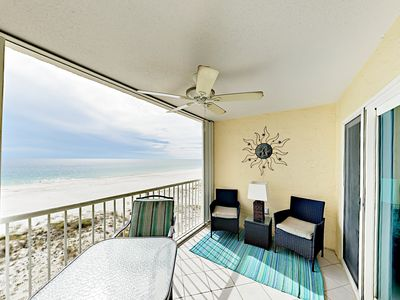 Photo for Turnkey - Get Wet at 2BR Gulf-Front Condo – Pool & Central Location
