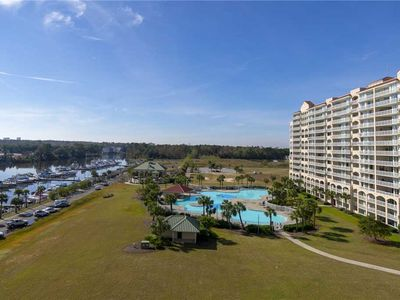 Photo for YACHT CLUB VILLAS 2BR/2BA END UNIT ON WATERWAY! PERFECT LOCATION FOR YOUR VACATION!