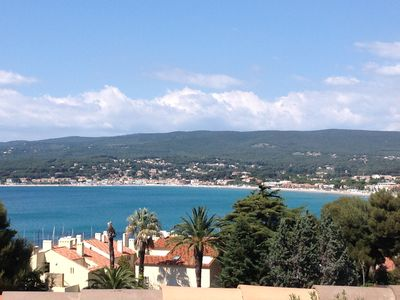 Photo for Apartment T4 Saint Cyr sur Mer La Madrague sea view in residence guarded