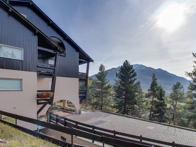 Photo for Chalet apartment w/ patio & lovely mountain views - close to skiing, town, spas!