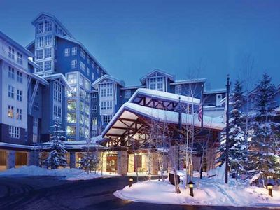 Photo for Marriott Mountainside 2 BD 2 BA, ski/in out, XMAS 2019 12/20-12/27