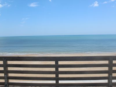 Photo for Vilano Beach Oceanfront Couples only Cottage in St. Augustine! 5 min. to town