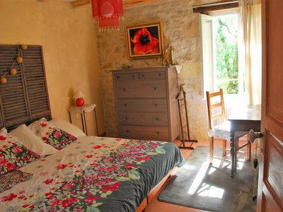 Photo for Beautiful typical Lot house Labeled by Gite de France, with swimming pool