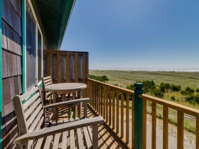 Photo for Dog-friendly, waterfront home - steps from town, Discovery Trail, & the beach!