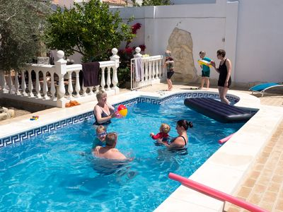 Photo for Large 16-century townhouse in Osuna with a garden and a pool