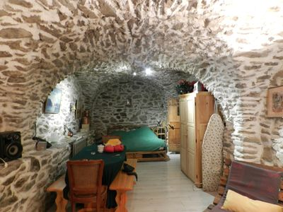 Photo for Studio in a vaulted cellar